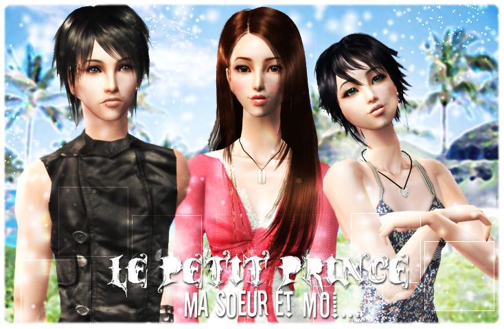 Le petit prince, ma soeur et moi... Intro